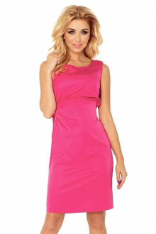 MEMORY - dress with binding - Pink 126-6