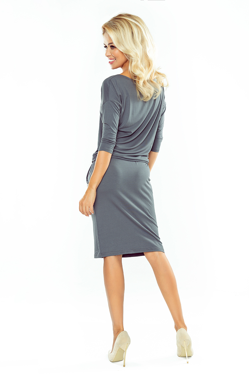 89093f86ece305 13-75 Sporty dress - dark Grey :: Numoco EN
