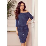 13-77 Sporty dress with pockets-  navy blue jeans