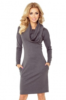 Dress with golf - gray 131-3