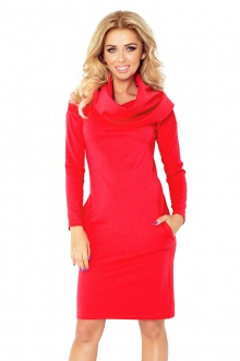 Dress with golf - red 131-4