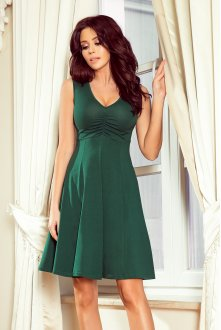 238-2 BETTY flared dress - green