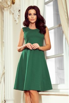 239-1 INEZ trapezoidal dress - green