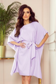 287-8 SOFIA Butterfly dress - bright heather
