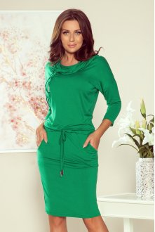 44-21 Sports dress with binding - Green