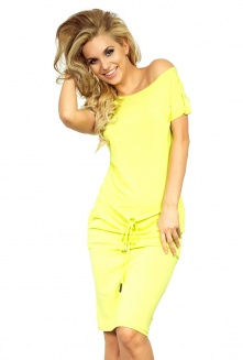 Sporty dress - NEON Lemon 56-3