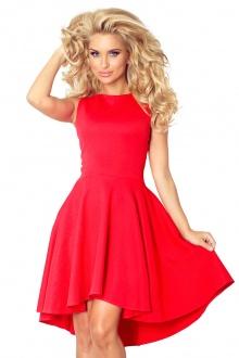 Lacosta - Exclusive dress with longer back - Red 66-12