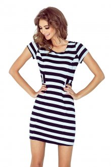Dress with buttons - STRIPES MM 010-3